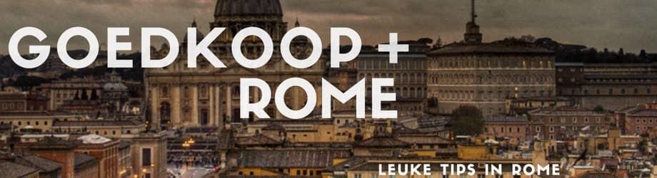 Goedkoop Rome